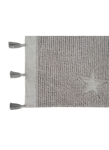 Lorena Canals Hippy Stars, Kilim,120 x 175 Gri